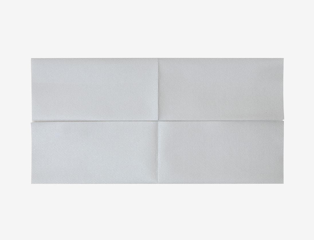 Napkin Folding Tutorial - Double Star Napkin Fold Technique for ... | 838x1096