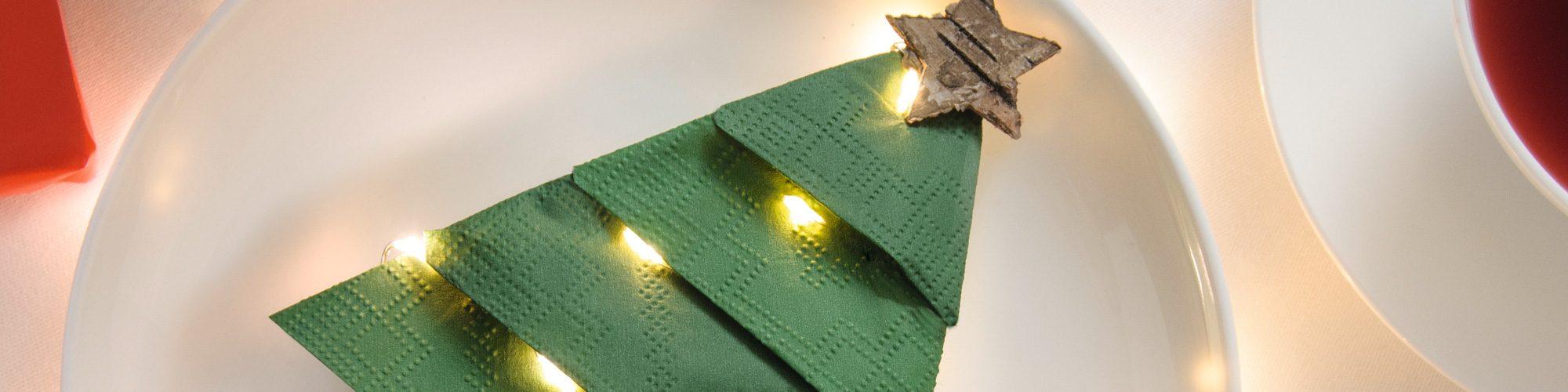 Christmas Tree Napkin Folding Stock Photo (Edit Now) 114891934 | 500x2000